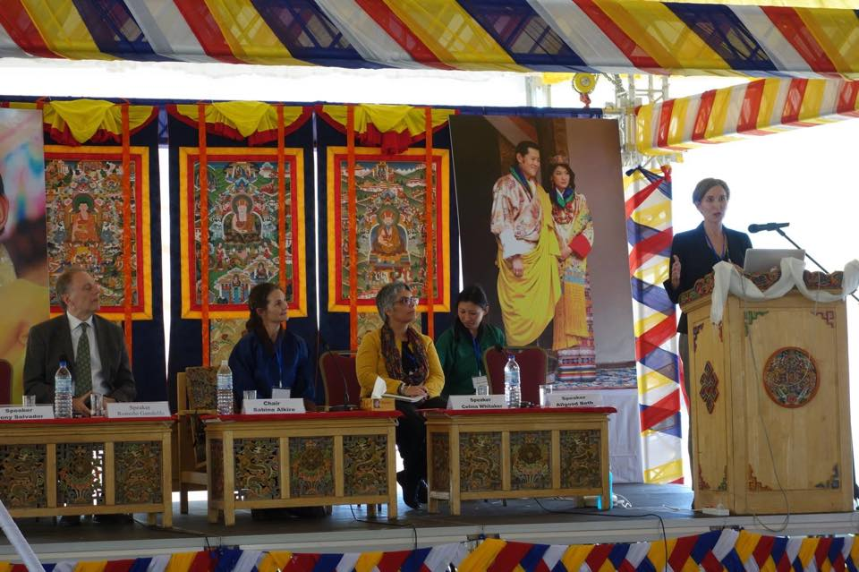 GNHUSA President Beth Allgood Presents At International Happiness Conference In Bhutan