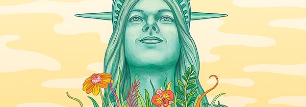 Tufts Magazine illustration